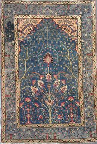 Rug ID: 38178 Antique Persian Kerman 4.5x6.7