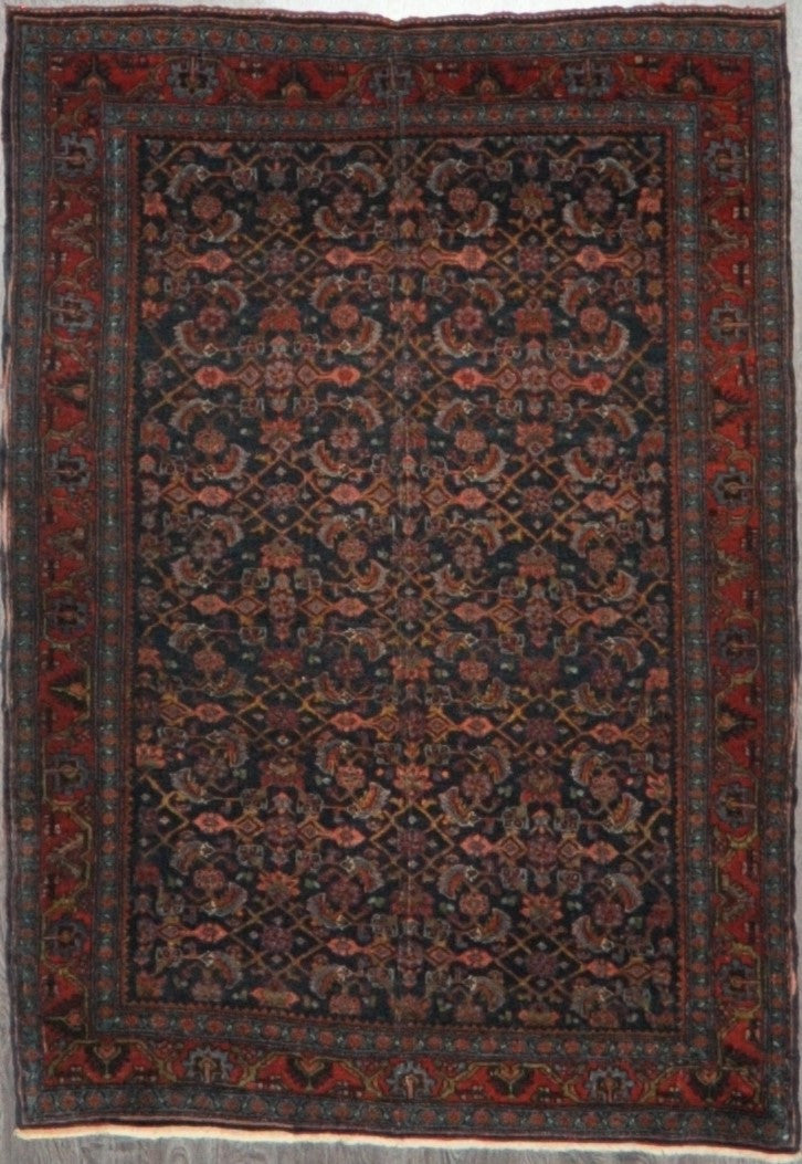 3.10x5.5 antique bijar #99410