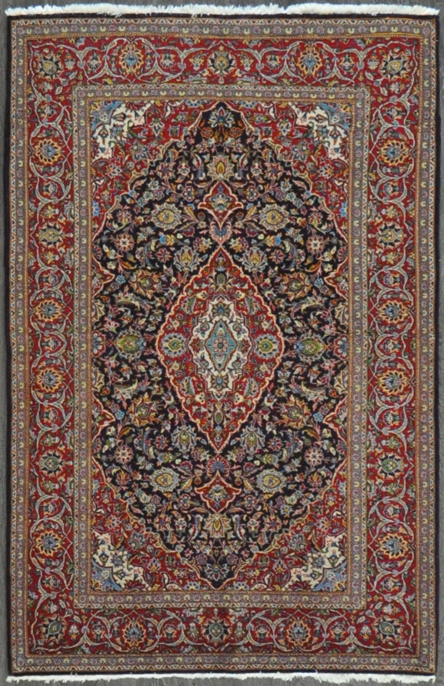 4.7x7.0 persian kashan #43401Sold