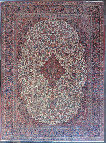 11.0x15.0 antique kashan dabir #12093