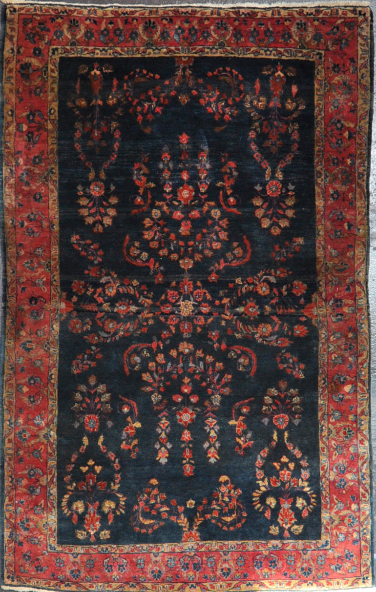 Rug Id: 47261 Antique Persian sarouk 4x6.5
