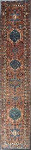 Rug Id: 47908 Antique Persian Heriz 3.0x14.1