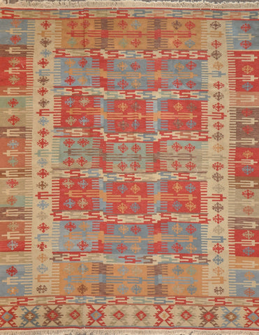 8.0x10.0 turkish kilim 3800 1800 #87918