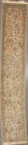 2.7x12.0 tabriz persian runner #51871