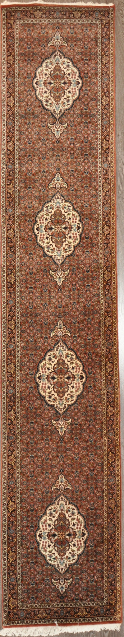 2.6x13.2 Persian  bijar runner #61465