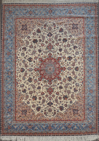 9.9x13.0 Antique Persian esfahan med ant #96416