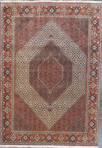 6.9x9.10 persian bijar wool #10640
