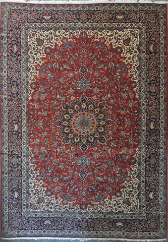 12.5x17.8 antique esfahan #41951
