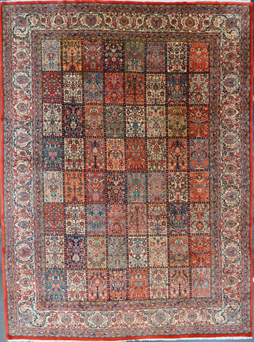Rug Id: 58397 Antique Persian Sarouk 10.3x14.0