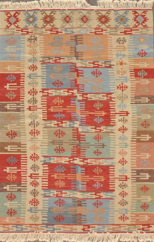 4.0x6.0 turkish kilim #29119