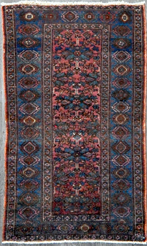 3.6x5.10 antique Persian hamedan #86281 Sold