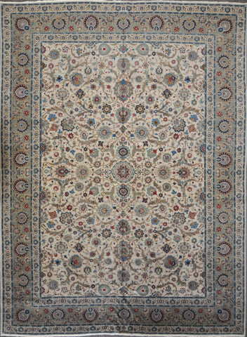 10.7x14.8 antique kashan #98546