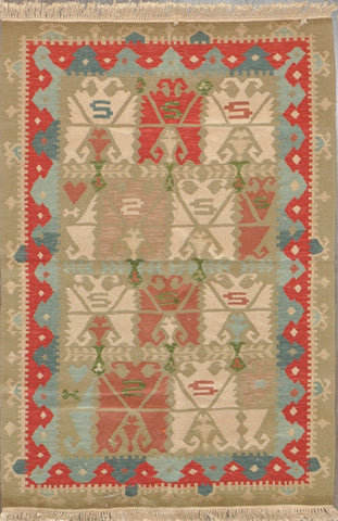 4.0x6.0 turkish kilim #68453