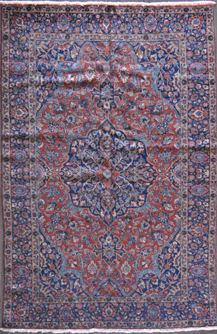 6.3x9.11 tabriz antique #71169