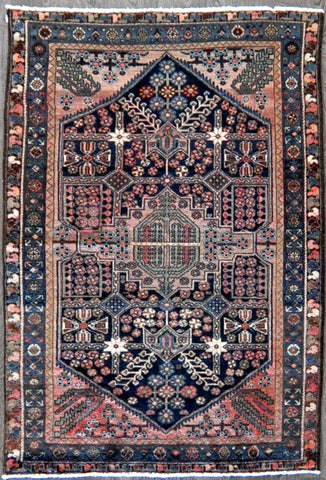 4.3x6.2 persian antique malayer #52568