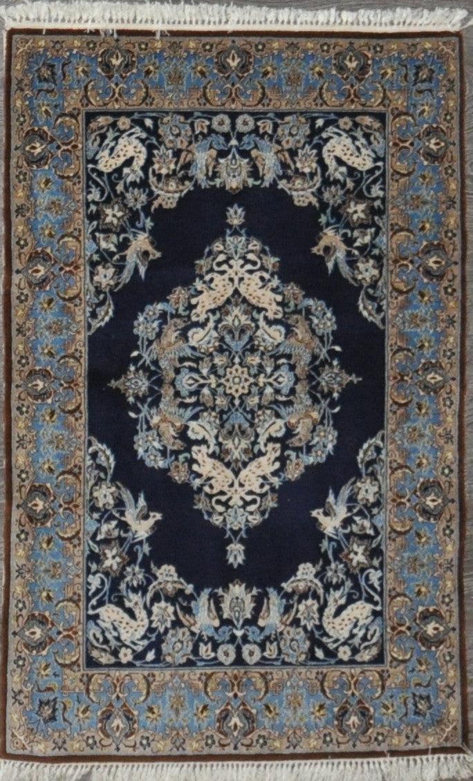 2.7x4.0 esfahan wool silk #43350
