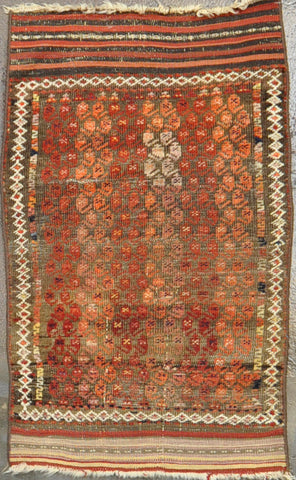 Rug Id: 78197 Antique baluch 2.5x10.1
