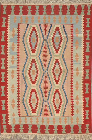 6.0x8.8 turkish kilim #12120