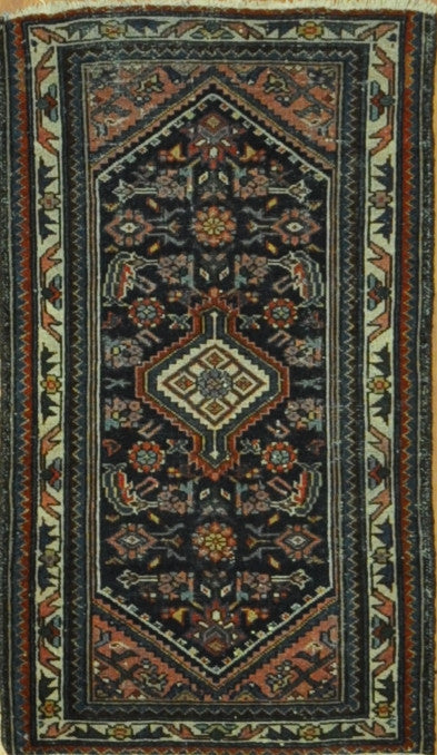 2.3x3.10  antique hamadan #60721