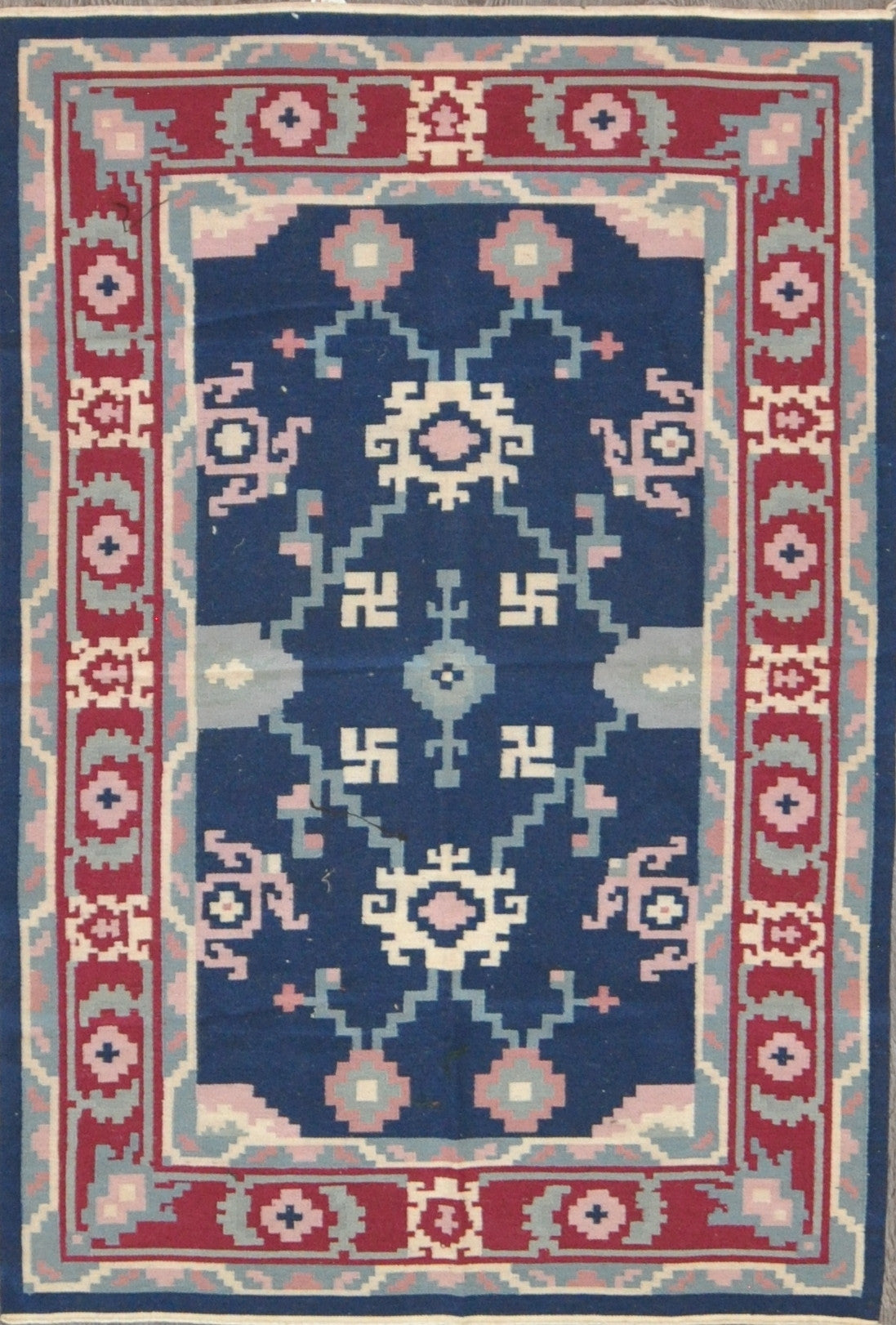 4.0x6.0 turkish kilim #36756