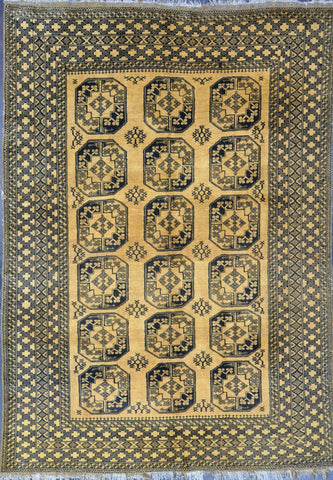 Rug Id: 80094 Antique Turkman 6.6x9.6