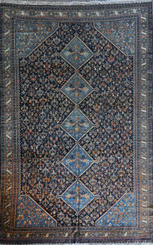 7.9x13.2 persian antique yalameh #71376