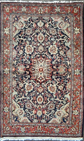 3.6x5.10 antique Persian sarouk #68659