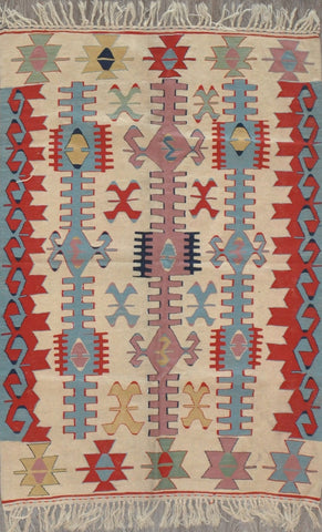 4.0x6.0 turkish kilim  #29002