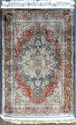 4.2x6.2 turkish hereke silk #74803