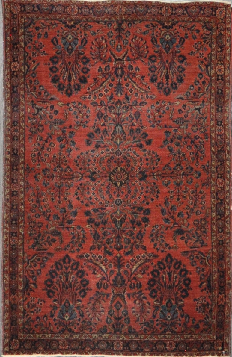 4.0x6.3 Persian antique sarouk #91751