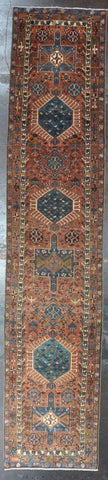 Rug Id: 92049 Antique Persian heriz 3.0x14.2