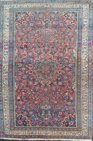 12x18.5 Antique persian mashad #28452