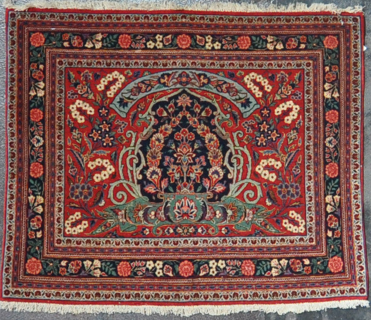 2.9x3.4 persian kashan wool #16322