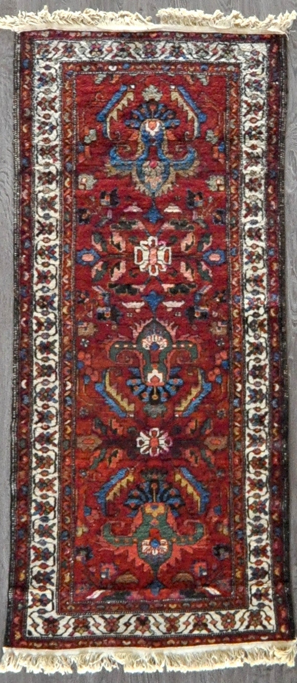 3x6.5 antique hamedan #46355
