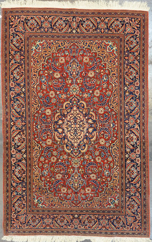 32632 Antique Isfahan 4.7x7.2