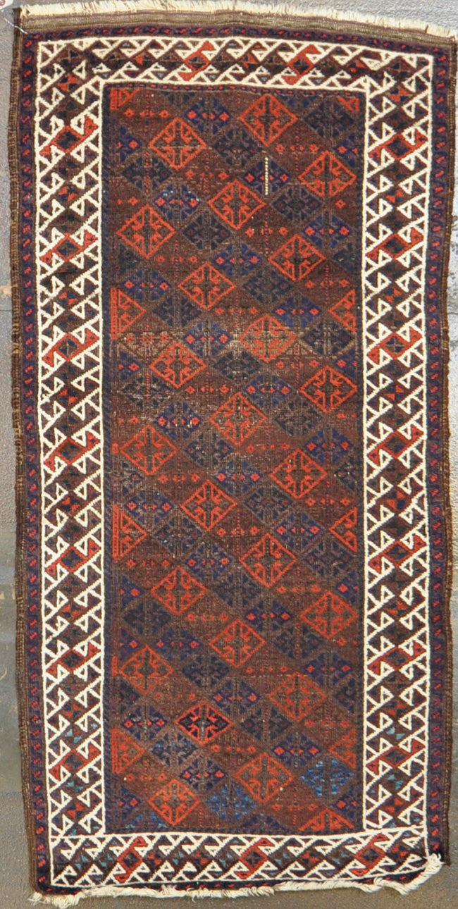 Rug Id: 85702 Antique Baluch 2.9x5.6