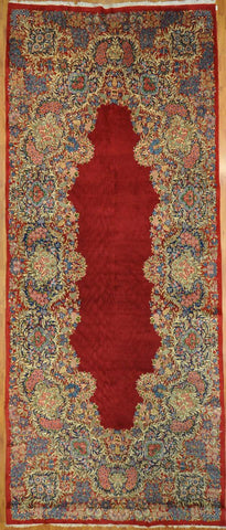 Rug Id: 3018 Antique Kerman 7.1x17.4