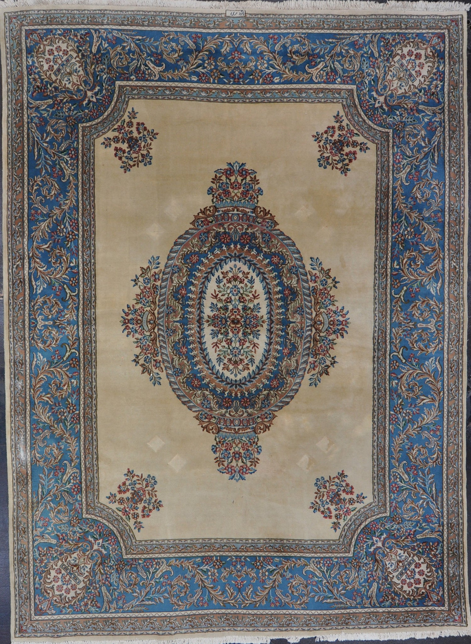 Rug ID 1070-C 9.9x13.2 Antique Persian Kerman