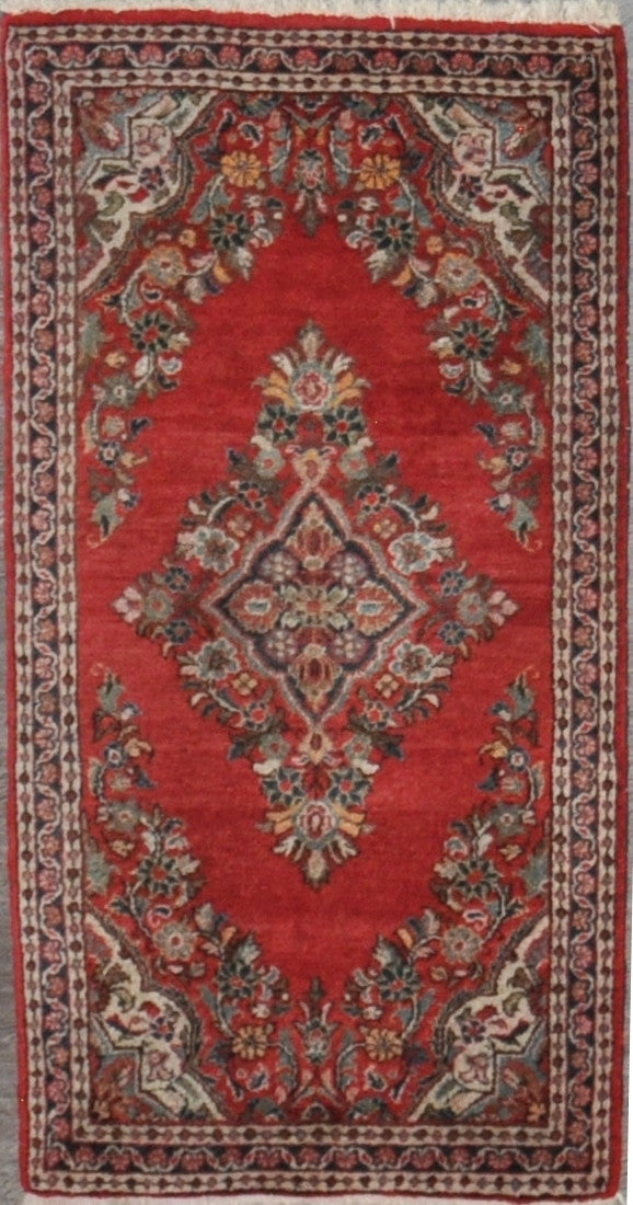 2.1x4.0 Antique persian sarouk  #62988