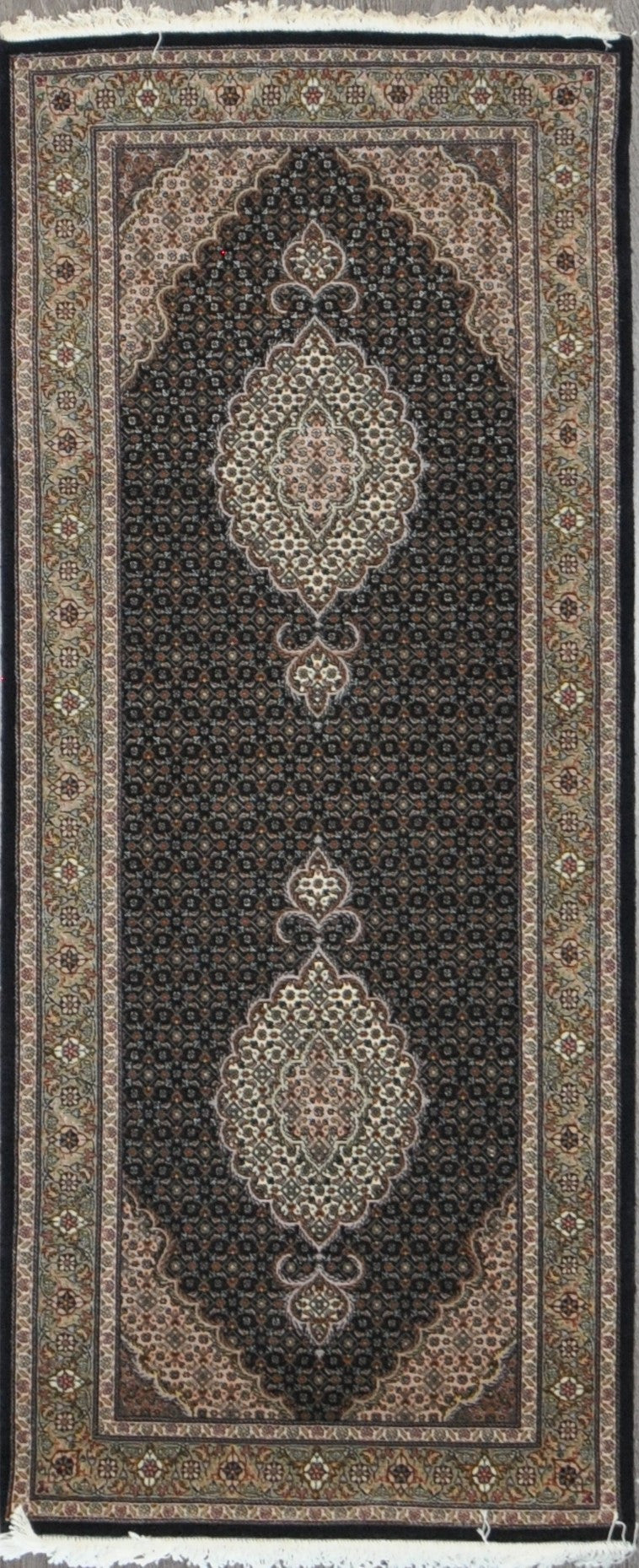 2.9x6.8 tabriz fish runner #34087 Sold