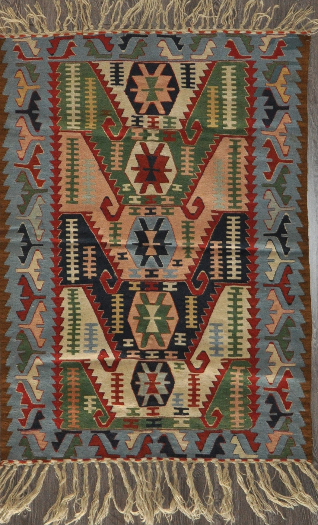 3.10x5.4 turkish kilim #81406
