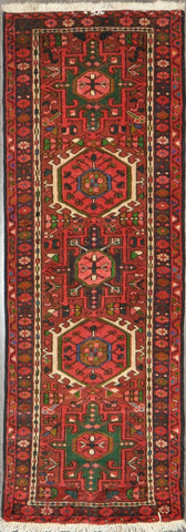 2.3x6.7 Persian heriz runner #46183