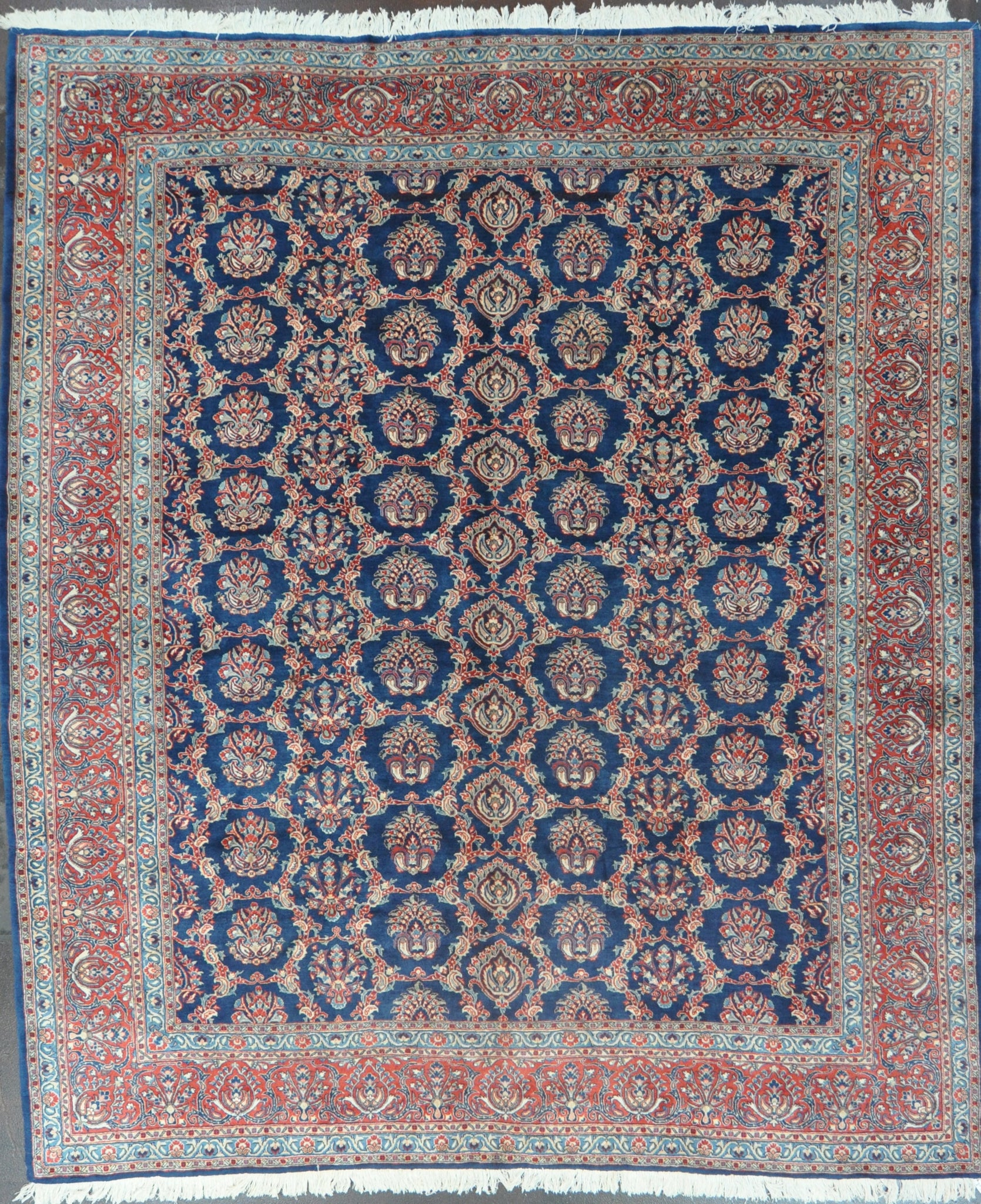 10x11.8 persian sarouk wool #25142