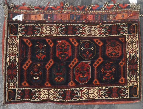 2.2x3.2 Antique afshar wool #18135