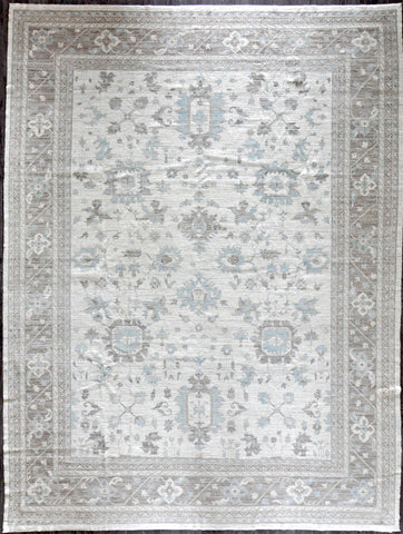 10x13.4 Afghan oushak #34312 out
