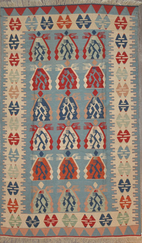 6.6x10.8 turkish kilim #60230