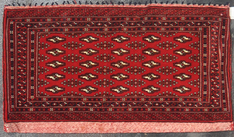 1.8x3.5 turkman wool #48965 Sold