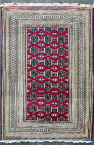 3.11x6.0 Persian antique turkman #94884