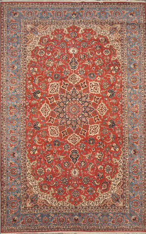 8.4x13.4 antique Isfahan #49575