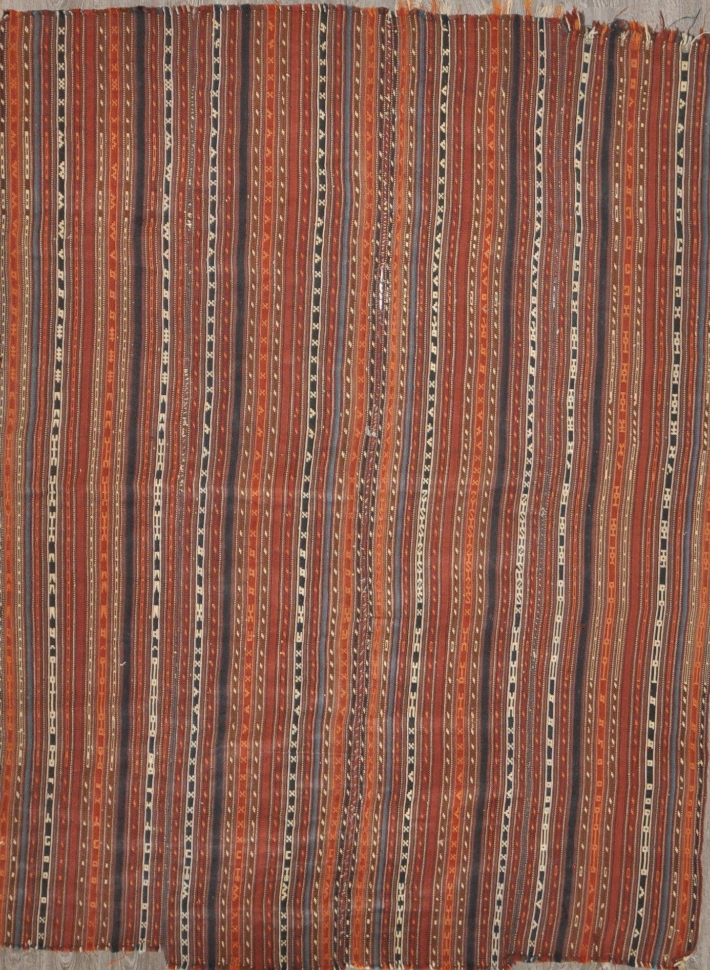 5.4x7.0 Antique persian kilim #99161